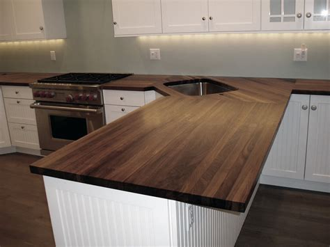 Kitchen Island With Chopping Block Top by Edge Grain Wood Countertops And Butcher Blocks Brooks Custom
