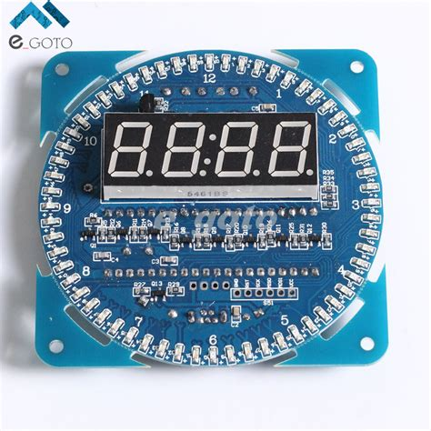 Paling Murah Ds1302 Module Blue Board Ds 1302 Rtc Real Time Clock ᐊds1302 rotating led display display alarm electronic clock module led ộ ộ temperature