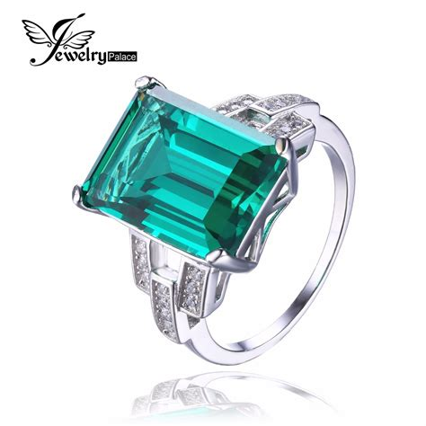 aliexpress buy jewelrypalace 5 8ct emerald ring