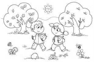 coloring pages for kindergarten free coloring pages of preschool fall