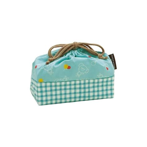 Lunch Box Blue bento lunch box cloth bag blue for bento lunch bag