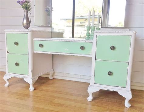 white distressed dressing table shabby chic distressed provincial vanity dressing