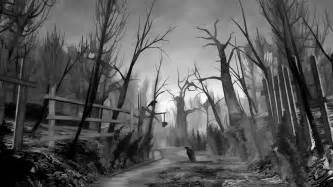 Creepy forest wallpaper 1205804