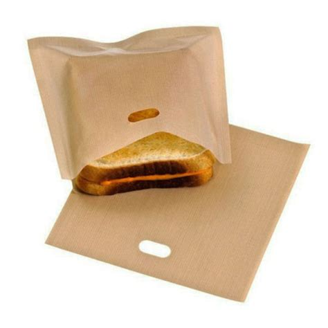 Toaster Bags Canada reusable toaster bag sandwich bags non stick bread bag toast heating food bags alex nld