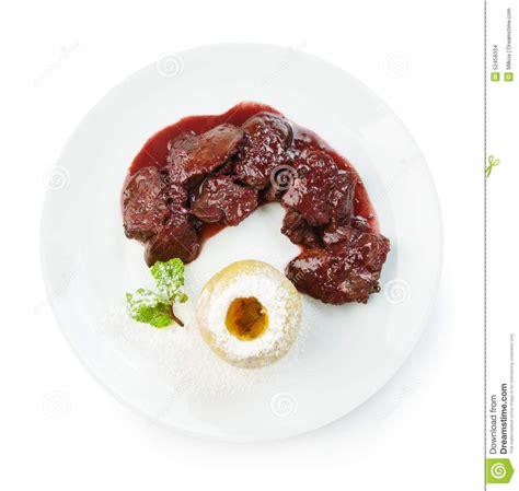 fegato alimento l alimento ristorante ha isolato il fegato di pollo
