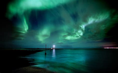 8 Dance Northern Lights Hd Wallpaper With 2560x1600 Viewing Lights