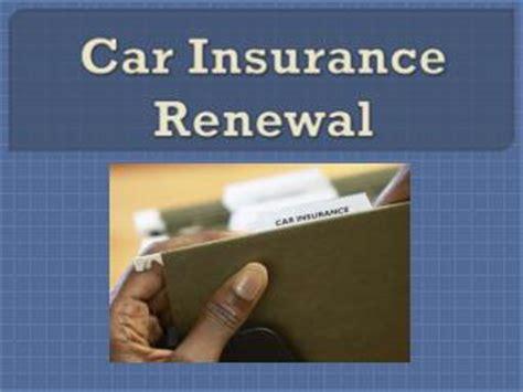 Car Insurance Renewal ppt car insurance renewal powerpoint presentation