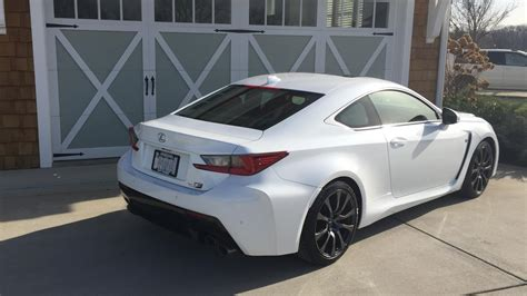 rcf lexus white welcome to lexus rc f owner roll call member