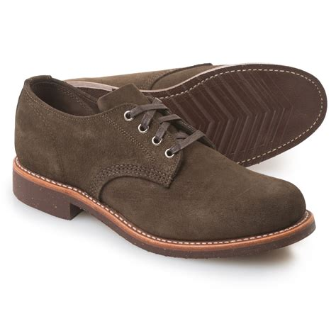 mens shoes chippewa general utility service oxford shoes for