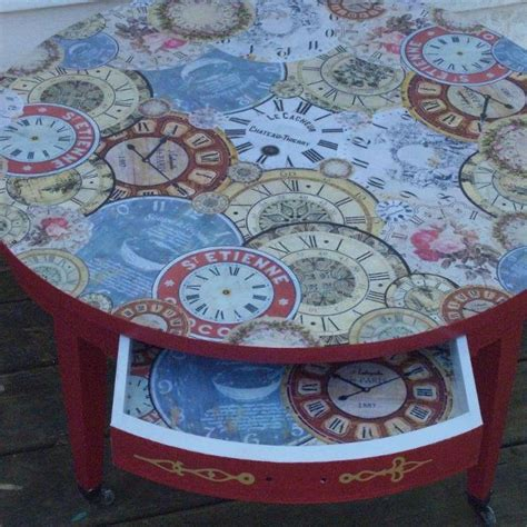 How To Make Decoupage Medium - hometalk how to make a decoupage vintage looking table