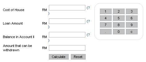 house loan payment calculator malaysia ing home loan repayment calculator
