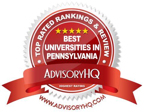 Best Mba Programs In Pa by Top 6 Best Universities In Pennsylvania 2017 Ranking
