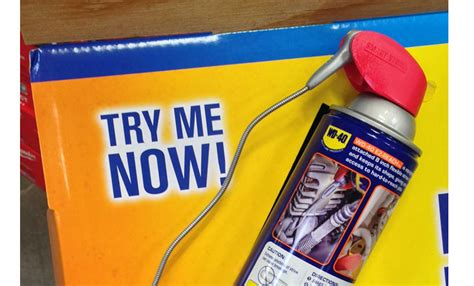 Wd40 Shelf by Wd 40 Helps Make It Easy To Reach Places Point Of