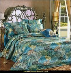 Jewel Tone Duvet Covers Decorating Theme Bedrooms Maries Manor Peacock Theme