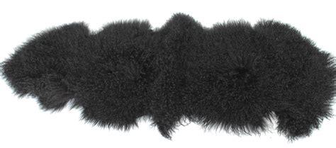 schwarzer fell teppich teppich decke tibet lammfell schwarz tibetfell lammfell