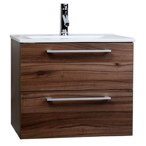 Mounted Vanity by European Styled Caen 23 5 Quot Single Bathroom Vanity Set In