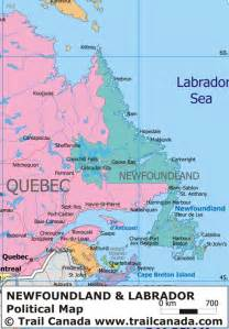 newfoundland map canada provinces quotes quotesgram