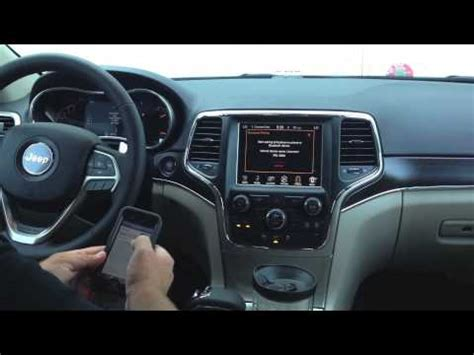 how to add uconnect to jeep how to use uconnect entertainment steve landers chrysler