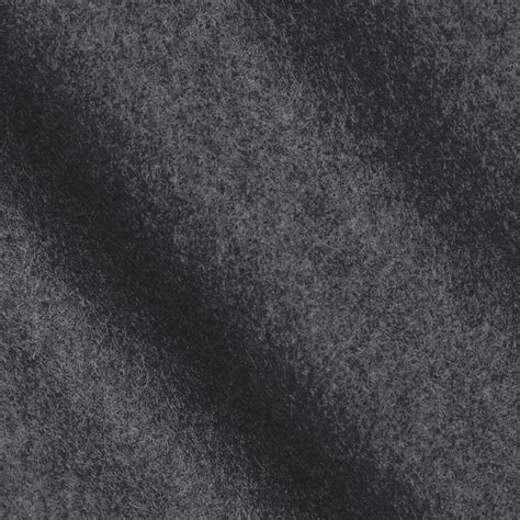 Wool Upholstery Fabric Telio Wool Blend Melton Charcoal Discount Designer