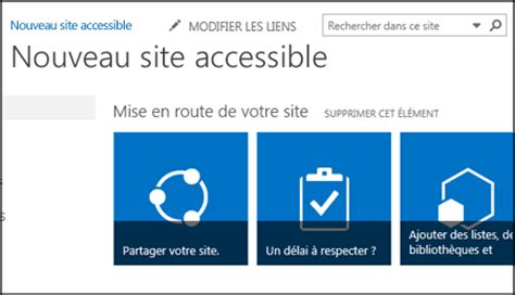 microsoft visio standard 2016 cr 233 er un rendre votre site sharepoint accessible
