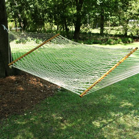 large oatmeal duracord rope hammock pawleys island hammocks