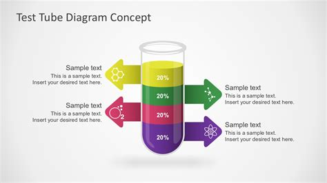 Free Test Tube Diagram Powerpoint Concept Free Powerpoint Graphics Templates