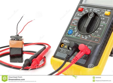 check resistor with multimeter electrical multimeter to check the resistance royalty free stock photos image 30956958