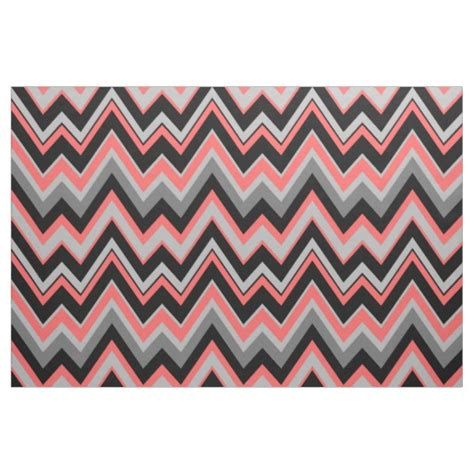 coral pattern zig zag grey coral chevron zigzag seamless pattern zazzle
