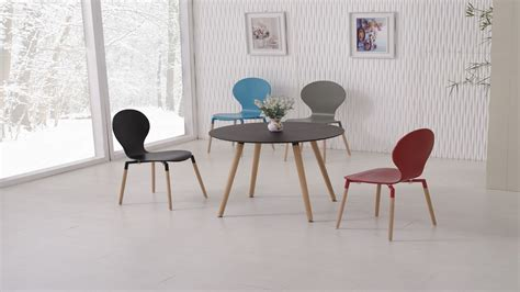 coloured dining tables and chairs black pu dining table and 4 mix colour chairs
