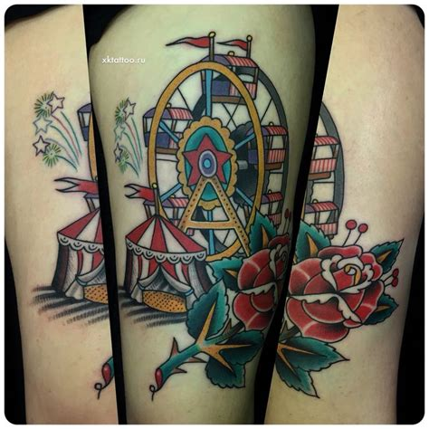 circus tattoo best 25 circus ideas on
