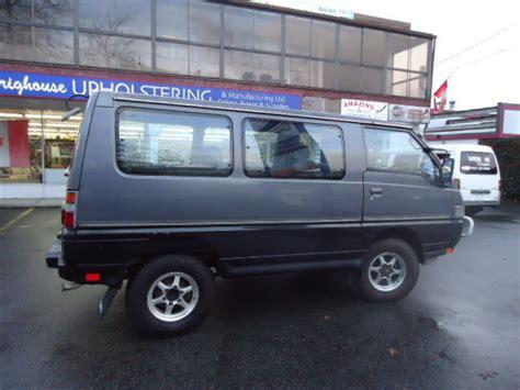mitsubishi wagon 1990 4wd diesel van html autos post