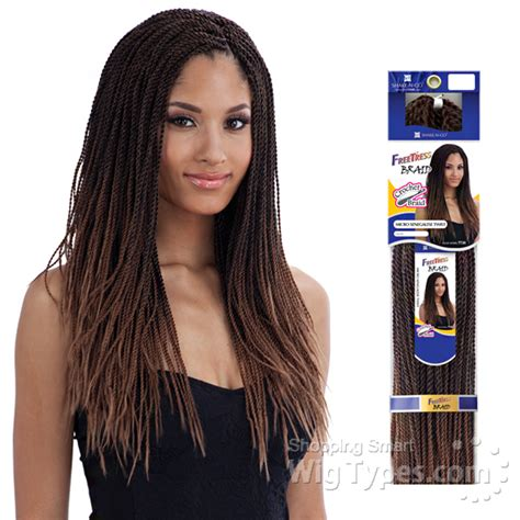 premade synthetic senegalese twist freetress synthetic braid micro senegalese twist