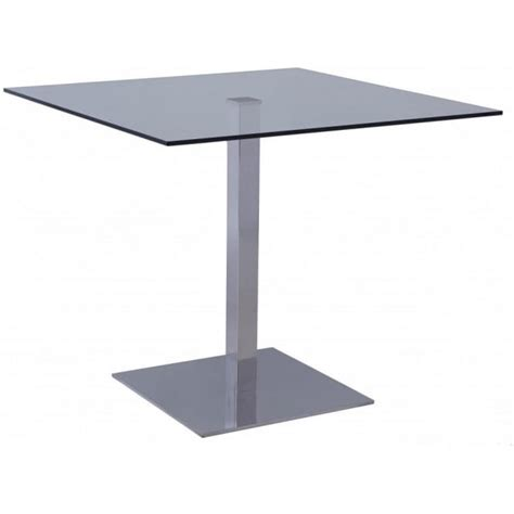 Buy Square Dining Table Buy Gillmore Space Square Glass Bistro Dining Table From Fusion Living