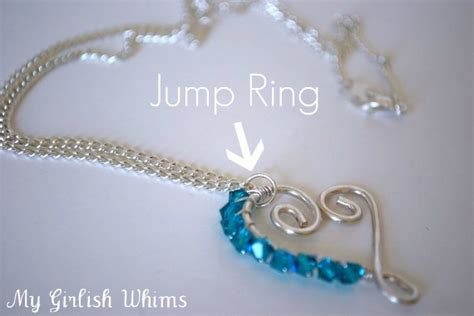 what are jump rings used for in jewelry jewelry lessons how to use jump rings my girlish whims
