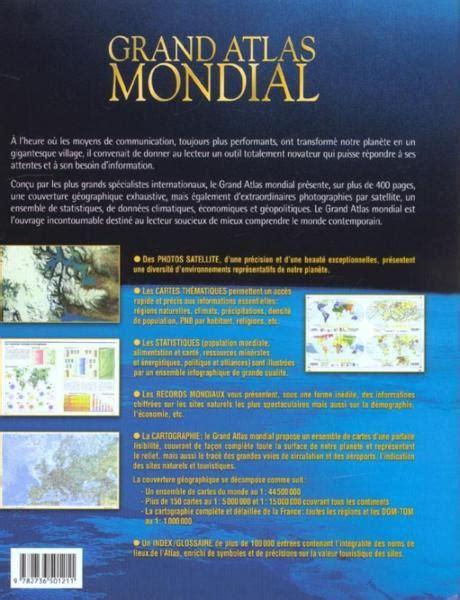 Rideau De Original 494 by Livre Grand Atlas Mondial Un Outil Exceptionnel Pour