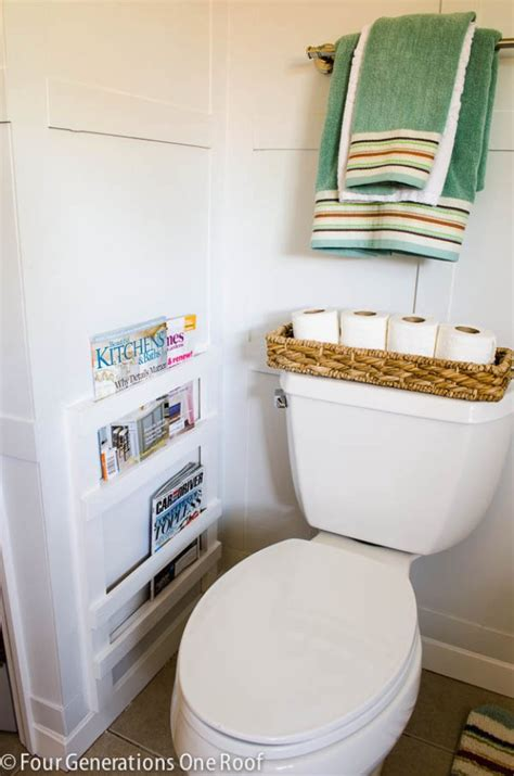 diy magazine holder for bathroom 31 brilliant diy decor ideas for your bathroom page 4 of