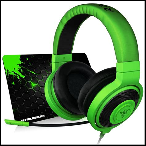 Mouse Dan Headset Razer fone razer kraken pro green headset mousepad jayob