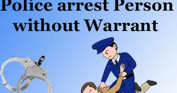 Criminal Code Of Canada Search Without Warrant Arrest Person Without Warrant The Study