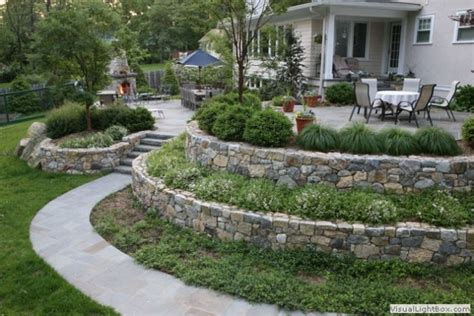 how to make a sloped backyard flat 15 inspirational sloped yard decoration ideas that will impress you top inspirations