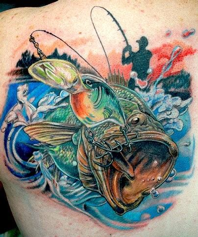 steelhead tattoo 30 fishing tattoos for who really fishing