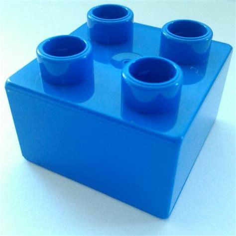 Set Part Lego 2x2 10 blue lego duplo 2x2 bricks part no 3437 new
