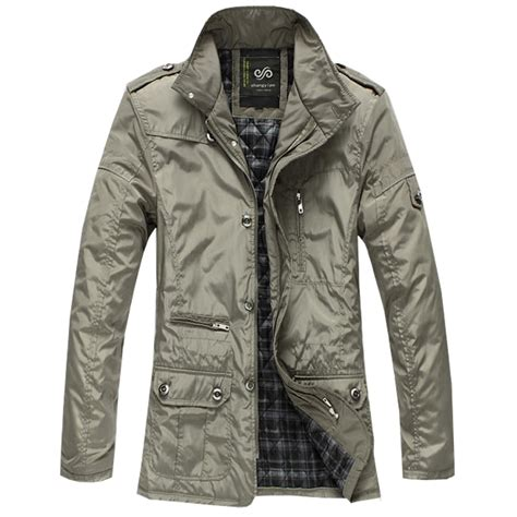 Jaket Windbreaker Cozmeed G Big Size mens jacket 2016 autumn winter s plus size thin padded