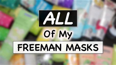 Masker Freeman freeman masks collection review masker freeman skincare routine suhaysalim