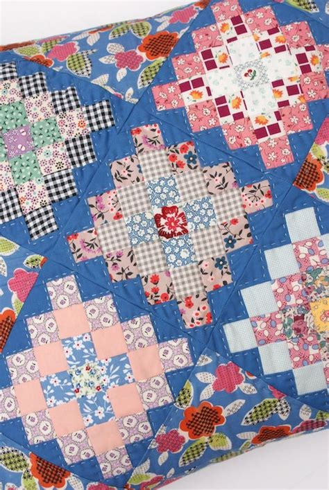 Square Patchwork Quilt Pattern - pattern from book great squared by lori holt