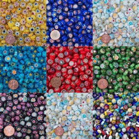mille fiori millefiori translucent gems 2oz