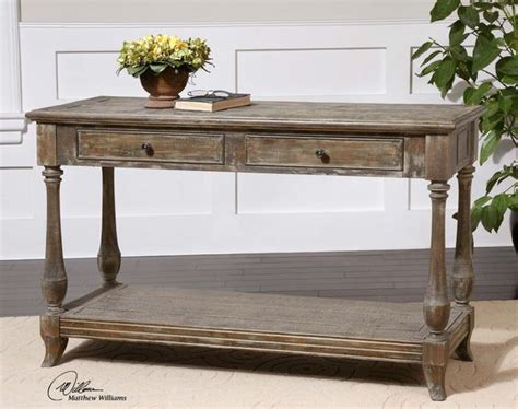 Distressed Entryway Table Mardonio Distressed Console Table Hallway Entryway Stains And Console Tables
