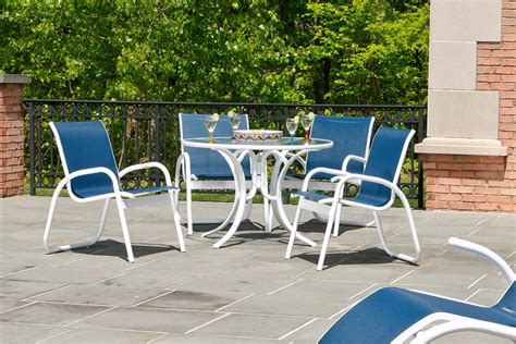 Telescope Casual Gardenella Sling Dining Set Seasonal Outdoor Furniture Natick Ma