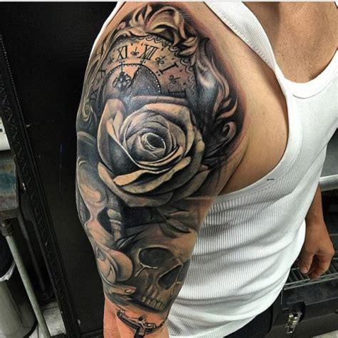 half sleeve cover up tattoos for men image result for quarter sleeve designs tattoos