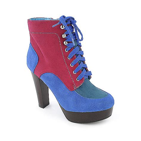 Dress Wilona Pink de blossom wilona 4 color block boots high heel boots at