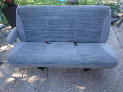 ford econoline bench seat purchase 92 96 ford truck bench seat to bucket seat